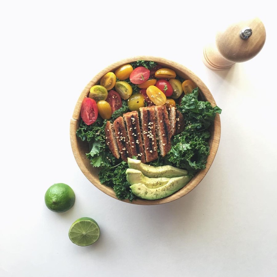 plato vegano