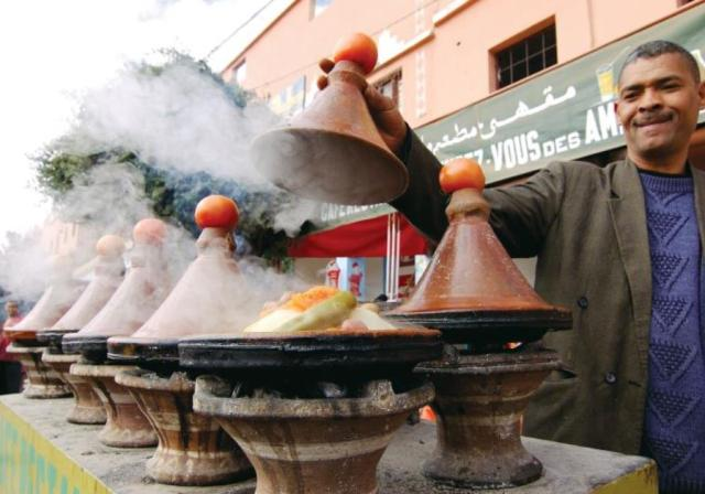 comida vegan arabe