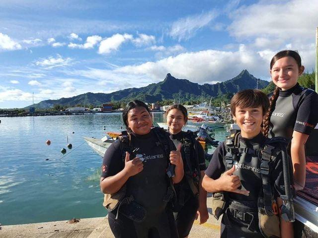 Dive Rarotonga - Hope Rising - Diving