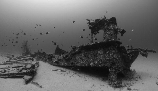 Mauritius wreck diving
