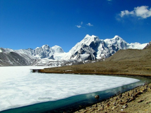 Hotel & Flight ticket for Gurudongmar Lake