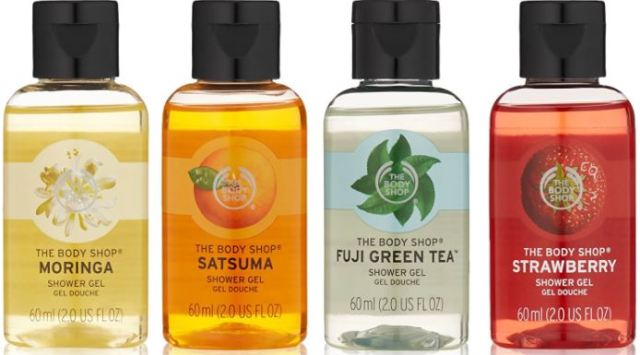 Bodyshop Offers on Shower Gels