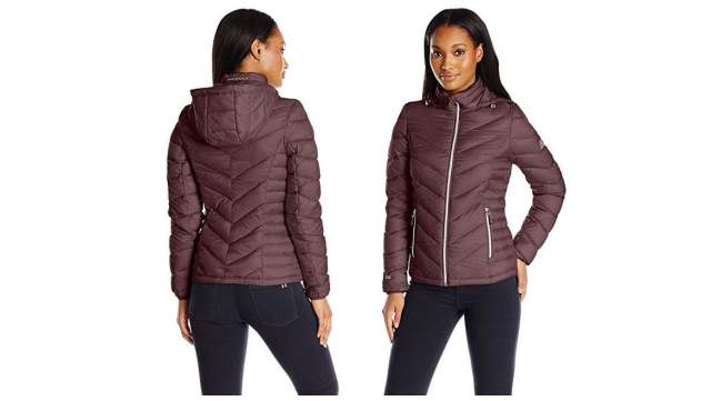 Jabong Mid-Length Puffer Coat