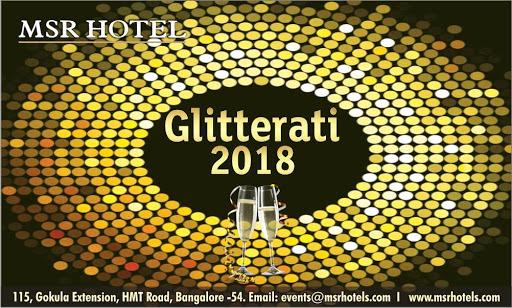 Glitterati 2018 : New Year Parties in Bangalore