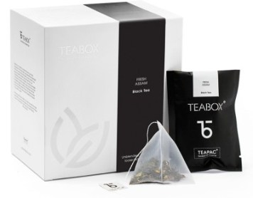 Teabox Assam Nitrogen-flushed Teabag Black Tea(16 Sachets, Box)