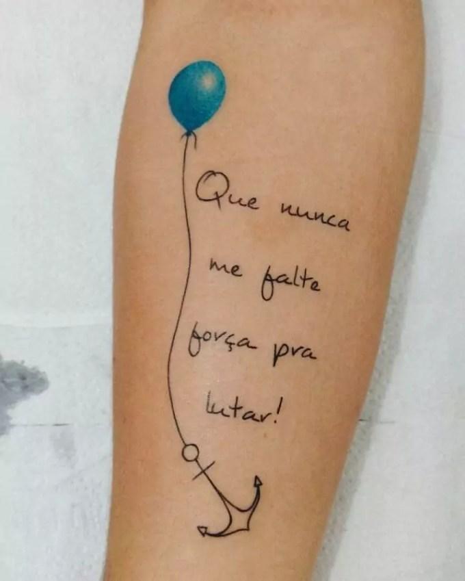 Frases para tatuagem: 80 tattoos diferentes e citações para inspirar – Blog  da Pajaris | Biquínis, Moda, Viagens e Vida Solar