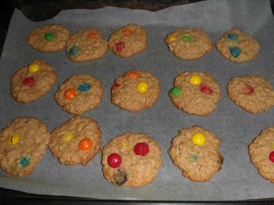 M&M's sušenky