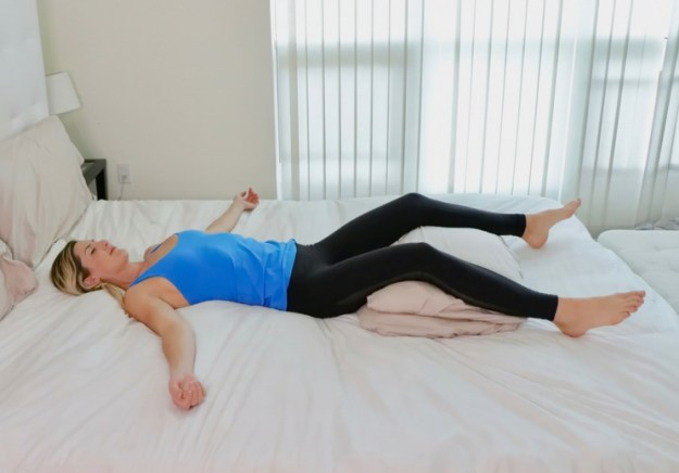 10 Nighttime Yoga Poses You Can Do in Bed