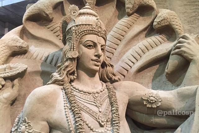 第12期南アジア編|ヴィシュヌ神砂像