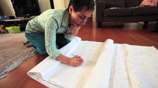 Maryam-Mirzakhani-riemann-surface