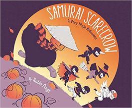 Samurai Scarecrow, A very Ninja Halloween by Rubin Pingk