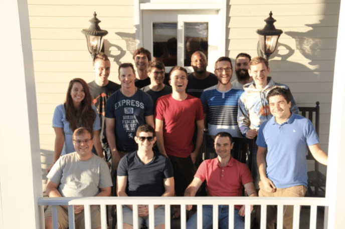 Parse.ly's 2015 Savannah product team retreat.