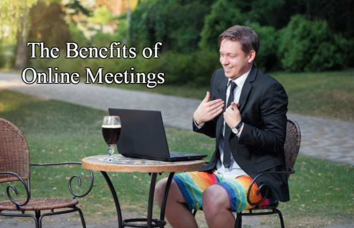 Business Meetings can be held anywhere.
