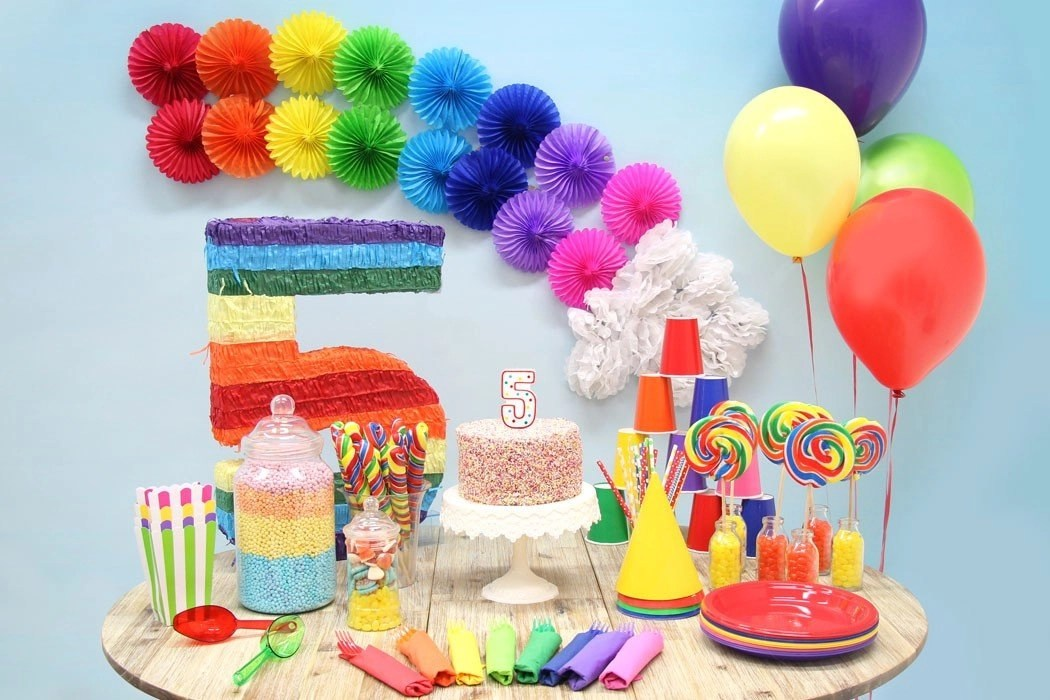Rainbow Party Ideas Party Delights Blog