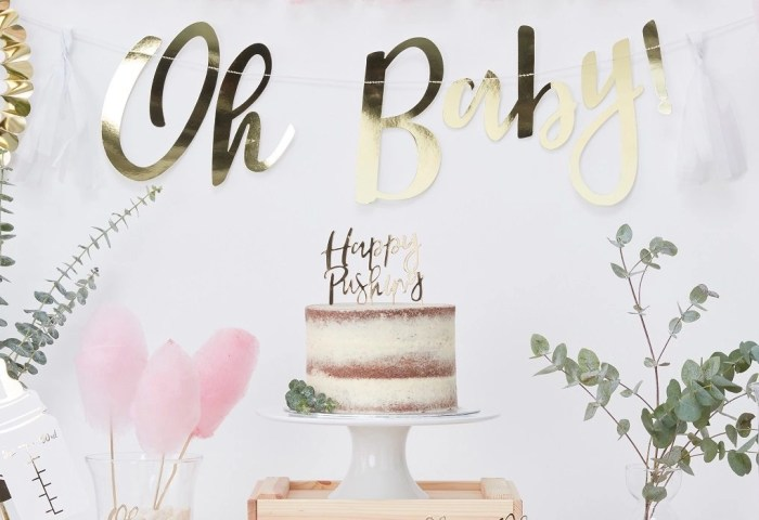 Easy Baby Shower Cake Ideas Party Delights Blog