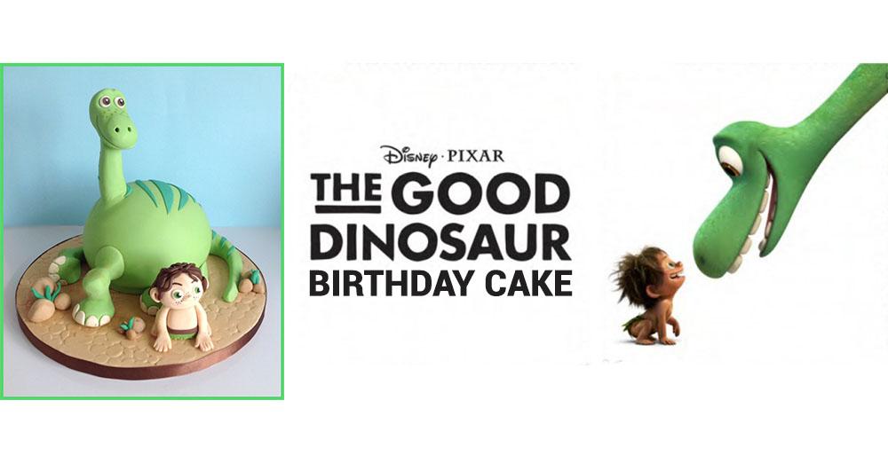 How To Make An Arlo The Good Dinosaur Birthday Cake Partyrama Blog