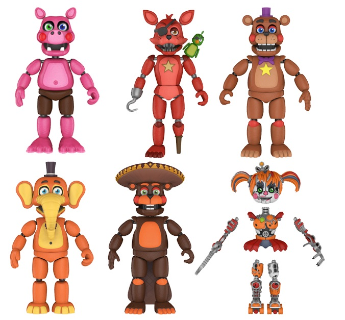 Five Nights at Freddys Pizza Sim Action Figure
