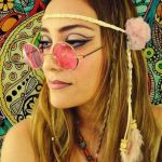 hippie účes