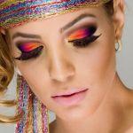 make-up hippie