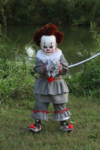 Strašidelný kostým klauna