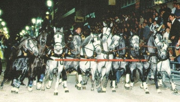 Diez caballos que hicieron temblar Lorca entera.