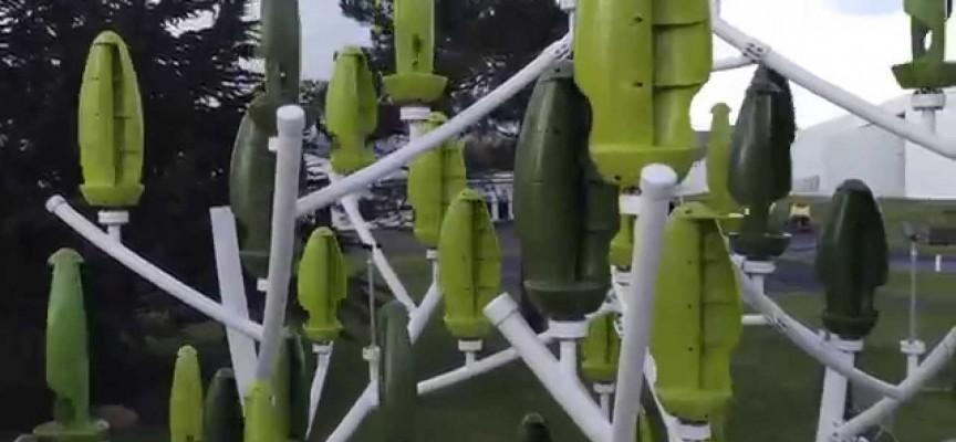 La production d'électricité est assurée par les feuilles mobiles.