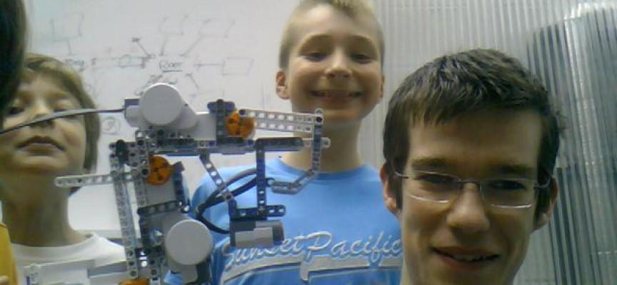 Baudry a participé aux ateliers robots du Pass avant d'en animer.