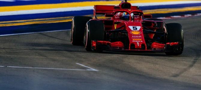勝てなかったフェラーリの事情とハミルトンのスーパーラップ シンガポールGP観戦記