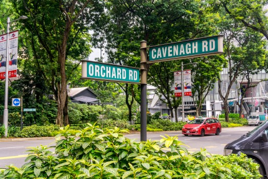 orchard road, singapore, shopping street, passpod.