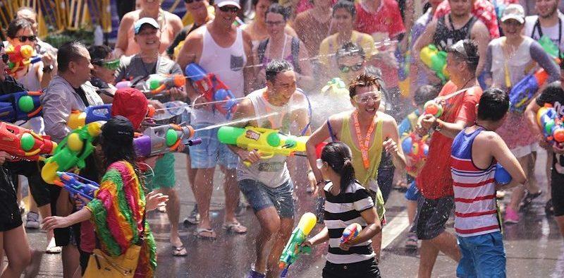 Passpod, Songkran Festival, Festival Songkran, Thailand, Liburan di Thailand