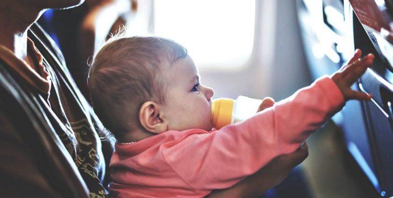 Passpod, Bayi, Traveling bersama bayi, Bayi naik pesawat, Bayi di pesawat
