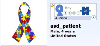 Autism Patient Nugget with ATEC Score