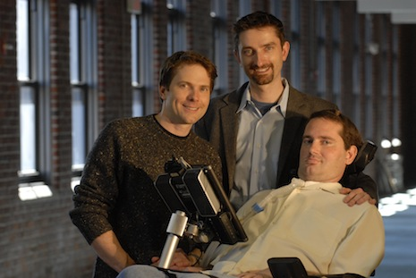 PatientsLikeMe President and TEDx Speaker Ben Heywood (Center) Along with Brothers Jamie Heywood (Left) and Stephen Heywood (Right), Whose ALS Diagnosis Inspired the Creation of PatientsLikeMe