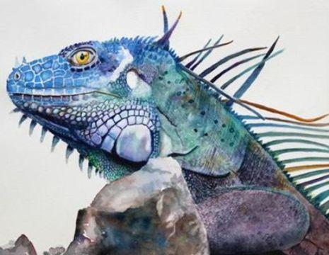 """""""Iggy the Iguana"""" by PD member mezzomom"""