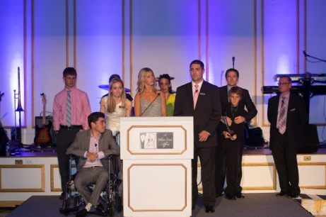 Young ALS Patients and the Sons and Daughters of ALS Patients Were the Focus of This Year's Dinner Program