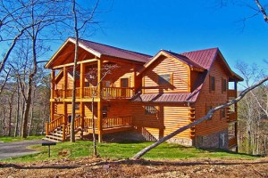 Lookout Lodge Luxury 4 Bedroom Log Cabin