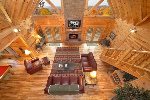 Big sky lodge near pigeon forge tn for 1 bedroom pet friendly cabins in gatlinburg tn