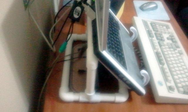 DIY PVC Pipe Laptop Stand Blog