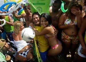 Cariocas mostrando porque o Rio foi o escolhido