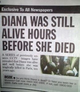 Diana was still alive hours before she died