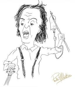 Paul McCartney caricatura