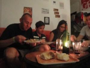 Jantar em casa