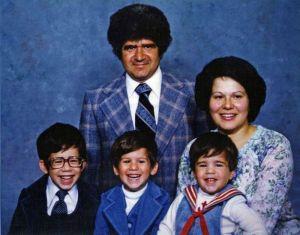 Família unida...