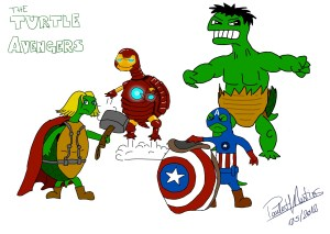 The turtle avengers
