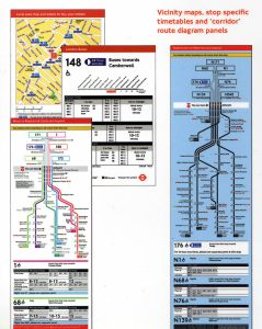 Mapas detalhados das rotas de ônibus em Londres. Você aprende a amar.