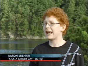 """Kick a ginger day"" victim"