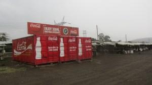 O responsável logístico da distribuição da Coca-Cola devia trabalhar para a ONU.