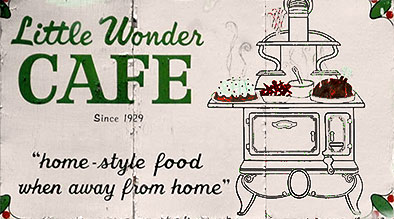 Little Wonder Cafe Billboard