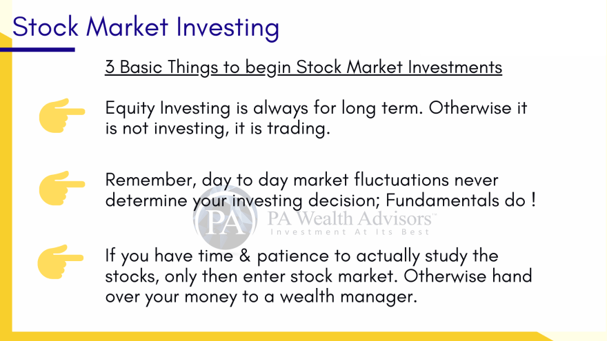 learn how to invest in stock market