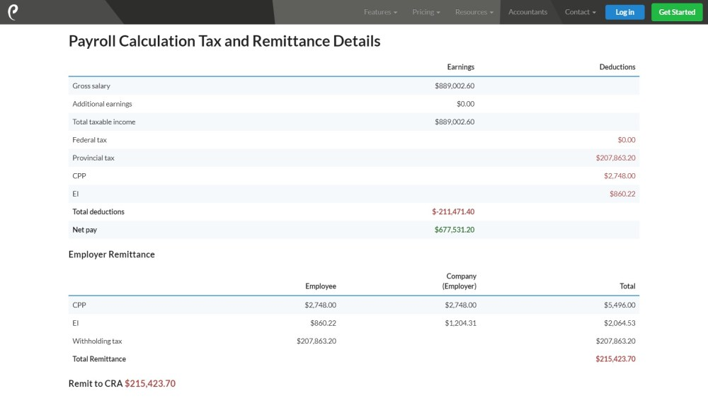 Results of Kawhi Leonard's 2018-2019 salary and payroll calculations.